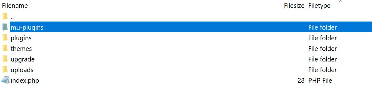 mu-plugins folder